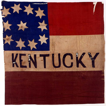 Confederate First National Flag, Kentucky