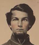 Pvt Dyer, 13th Massachusetts Infantry