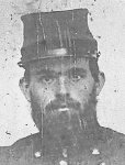 Pvt Hall, 13th Massachusetts Infantry
