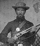 Pvt Lewis, 2nd United States Sharpshooters