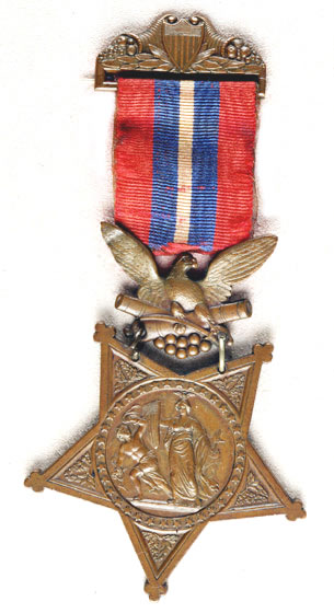 US Army Medal of Honor, 1865