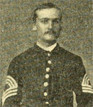 Sgt Peck, 118th Pennsylvania Infantry